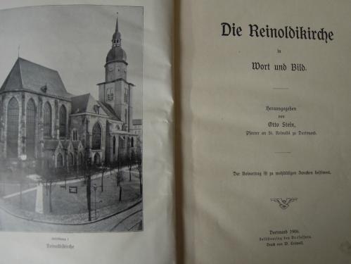Die Reinoldikirche in Wort und Bild 1906 Buch