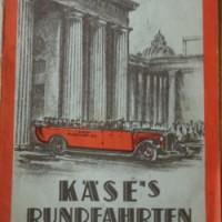 Kase's Rundfahrten Karte Berlin