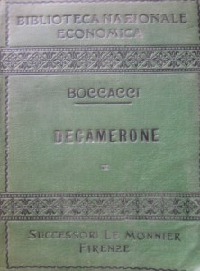 Boccacci IL Decameron II 1904