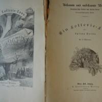 Julius Verne Ein Lotterie Loos 1888