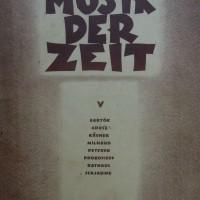 Musik Der Zeit Universal-Edition No 9520