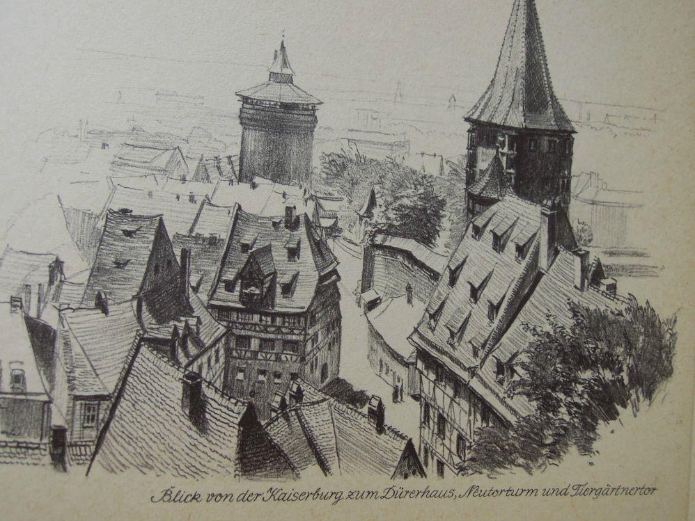 Nürnberg Aldsadt-Sehenswürdigkeiten von Hans Gründl
