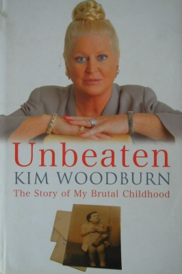 Unbeaten Kim Woodburn hard cover book