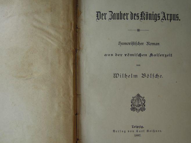 Der Zauber des Königs Arpus 1887