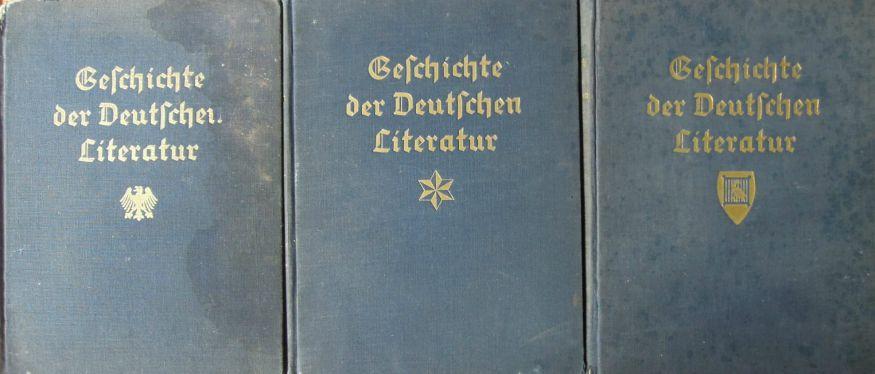 Geschichte der Deutshen Literatur 1934 1938