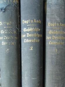 Geschichte der Deutshen Literatur