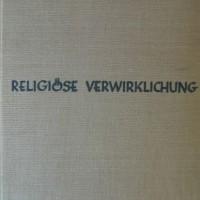 Religiőse Verwirklichhung Paul Tillich cover