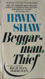 Irwin Shaw Beggarman-Thief paperback