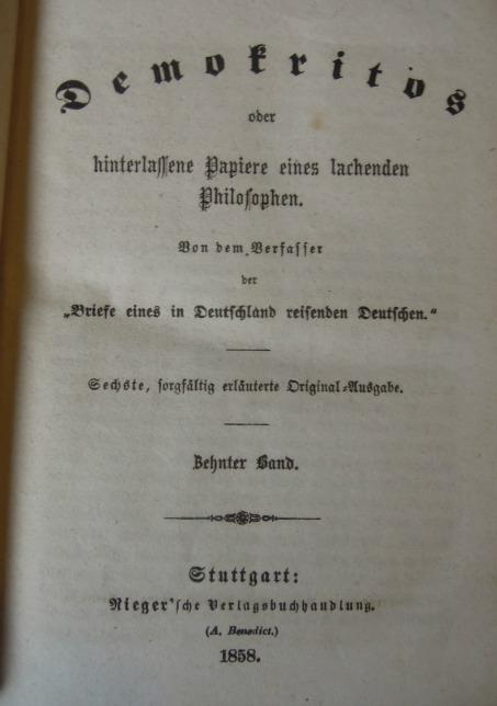Demokritos X-XI-XII 1858
