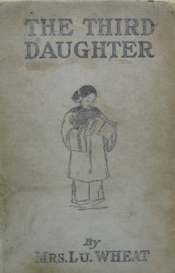 The Third Daughter by Mrs. Lu. Wheat cover