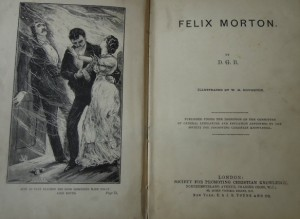 Felix Morton  by D.G.B