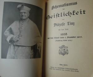 Schematismus der Geistlichkei der Diözese Linz 1938