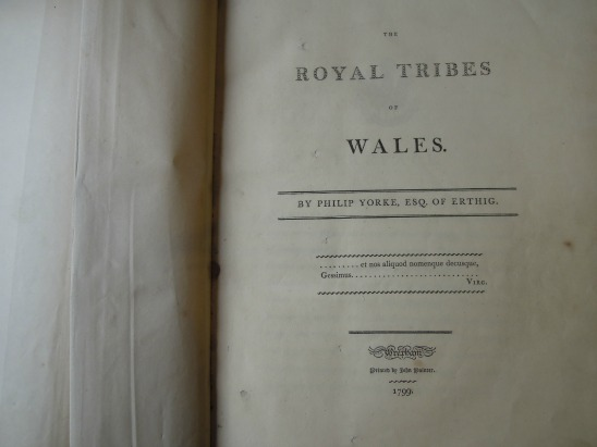 The Royal Tribes of Wales