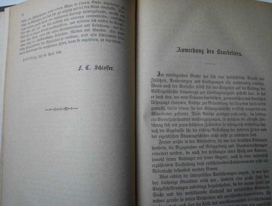 Schlosser's Weltgeschichte für das deutsche Volk 1871