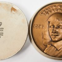 C Elsbach Cogito Ergo Sum Descartes medal