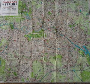 Berlin Plan Pharus-Plan Map