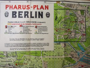 Berlin Plan Pharus-Plan Map