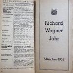 München Karte und Reiseführer 1933