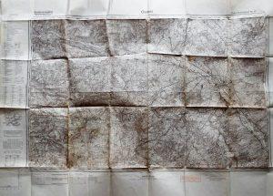 Chalons France Frankreich Krieg Karte military map 1936