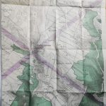 World War I german military map Ukraine twofold