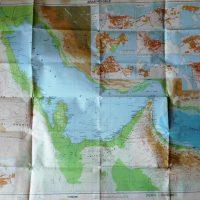 Arabian Gulf map 1977