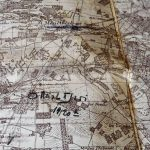 Aubigny Clemont France military map cca 1937 military markings