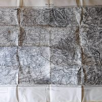 Bar-le-Duc France military map Karte 1936