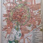 Braunsweig Karte Plan map  1894