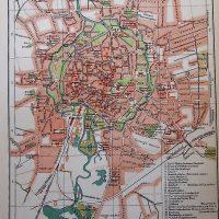 Braunsweig Deutschland Germany Karte Plan map 1894