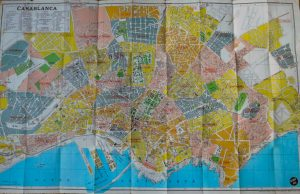 Casablanca Plan Guide map 1971