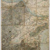 Wien and surroundings map Wien Umgebung Austria Österreich Plan Karte