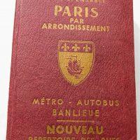 Paris Par Arrondissement Guide Général De Paris guidebook 1967