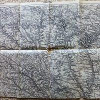 Tarnopol Zbaraz Ukraine military map Karte cca 1936