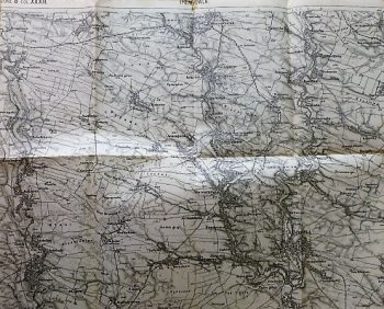 Trembowla Mikulince Ukraine military map Karte cca 1936
