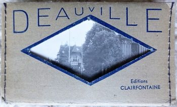 Deauville France 10 old photos 5 Euro