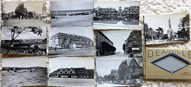 Deauville France 10 old photos