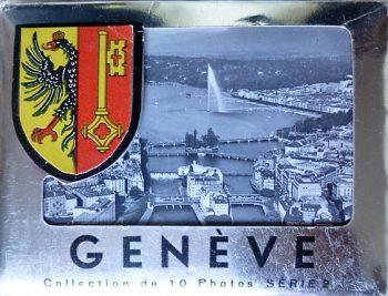 Genéve Collection de 10 Photos Série 2 Genf