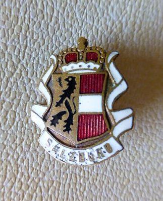 Salzburg Abzeichen badge pin 1930 3 Euro