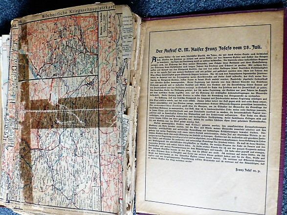 Die militärischen Ereignisse im Völkerkrieg 1914 - 18 1-211