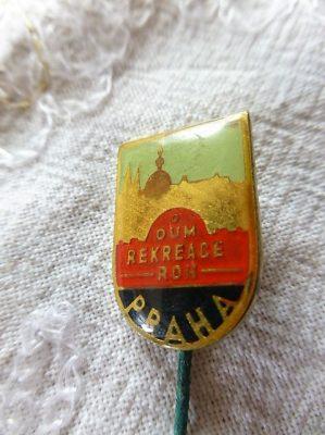 Dum Rekreace Roh Praha Abzeichen badge pin