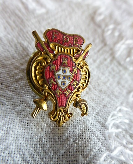 F.P.E. Abzeichen badge pin