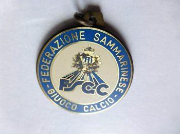 FSGC Federazione Sammarinese Giuoco Calcio badge Torneo Dell Adriatico 1989