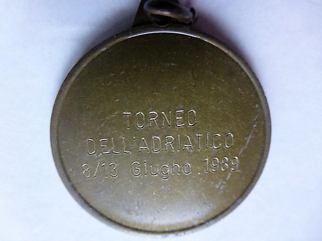 Federazione Sammarinese Giuoco Calcio badge Torneo Dell Adriatico 1989