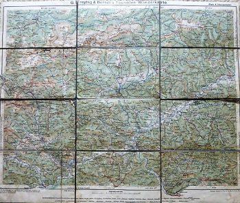 Freytag & Berndt's Touristen Wanderkarte Blatt 4 Hochschwab