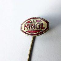 VEB Minol DDR Abzeichen badge pin