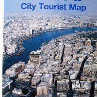 Dubai Tourist Map 1989