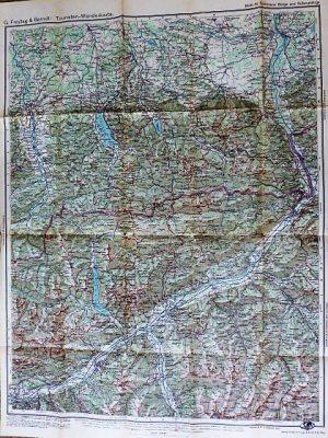 G. Freytag & Berndt's Touristen-Wanderkarte Schlierseer Berge und Rofangebirge Tauern Blatt 31