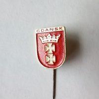 Gdansk Poland pin badge Abzeichen