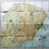 Nuevo plano dela Ciudad de Buenos Aires y Parte del Partido De Avellaneda 1912