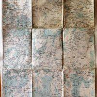 Prizren Gjakova Gjakove Kosovo map Landkarte 1915